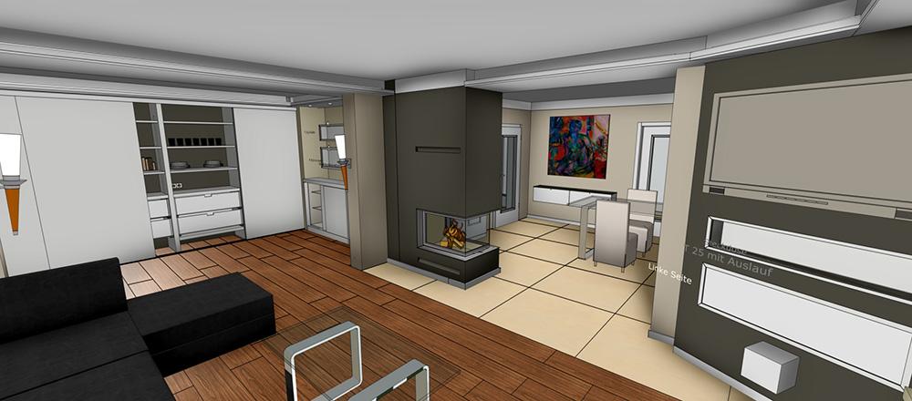 3D Badplanung und CAD-Zeichnung