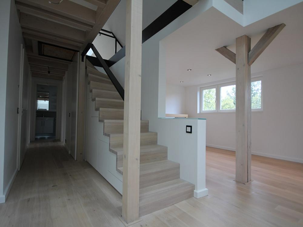 Gestaltung und Ausbau im Dachgeschoß