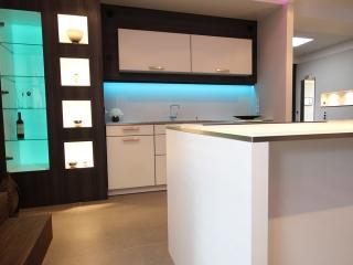 Küche in der Ausstellung Hamburg Sportallee Planung Thomas von der Geest
